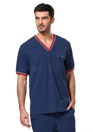 Стильная мужская блуза для врача LE2201