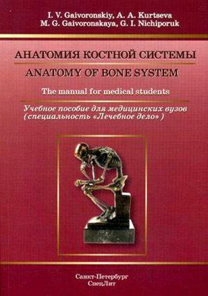 Анатомия костной системы. Учебное пособие
