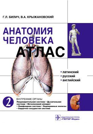Анатомия человека. Атлас в 3 томах. Том 2. Внутренние органы