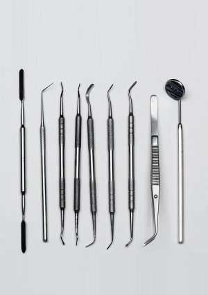 Набор стоматологический терапевтический. 9 предметов