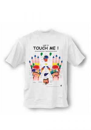 Прикольная футболка. Прикоснись ко мне!