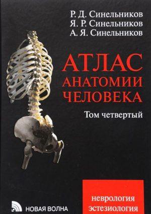Атлас анатомии человека в 4-х томах. Том 4. Неврология, эстезиология