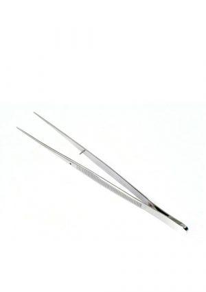 Пинцет анатомический глазной прямой 100 мм