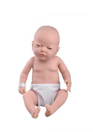 Модель младенца женского пола для обучения уходу