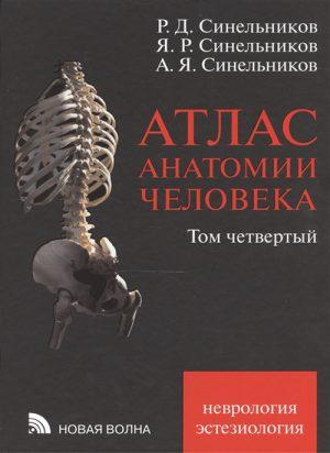 Атлас анатомии человека. В 4-х томах. Том 4