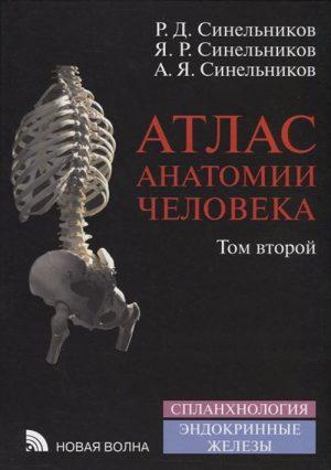 Атлас анатомии человека. В 4-х томах. Том 2